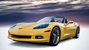 Douglas Pittman - Yellow Corvette Convertible